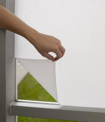 Textile Sichtschutzfolie in weiß, Fa. Creation Baumann
