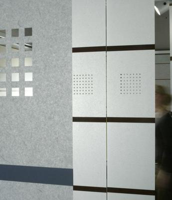 Sichtschutzsystem Wood & Washi